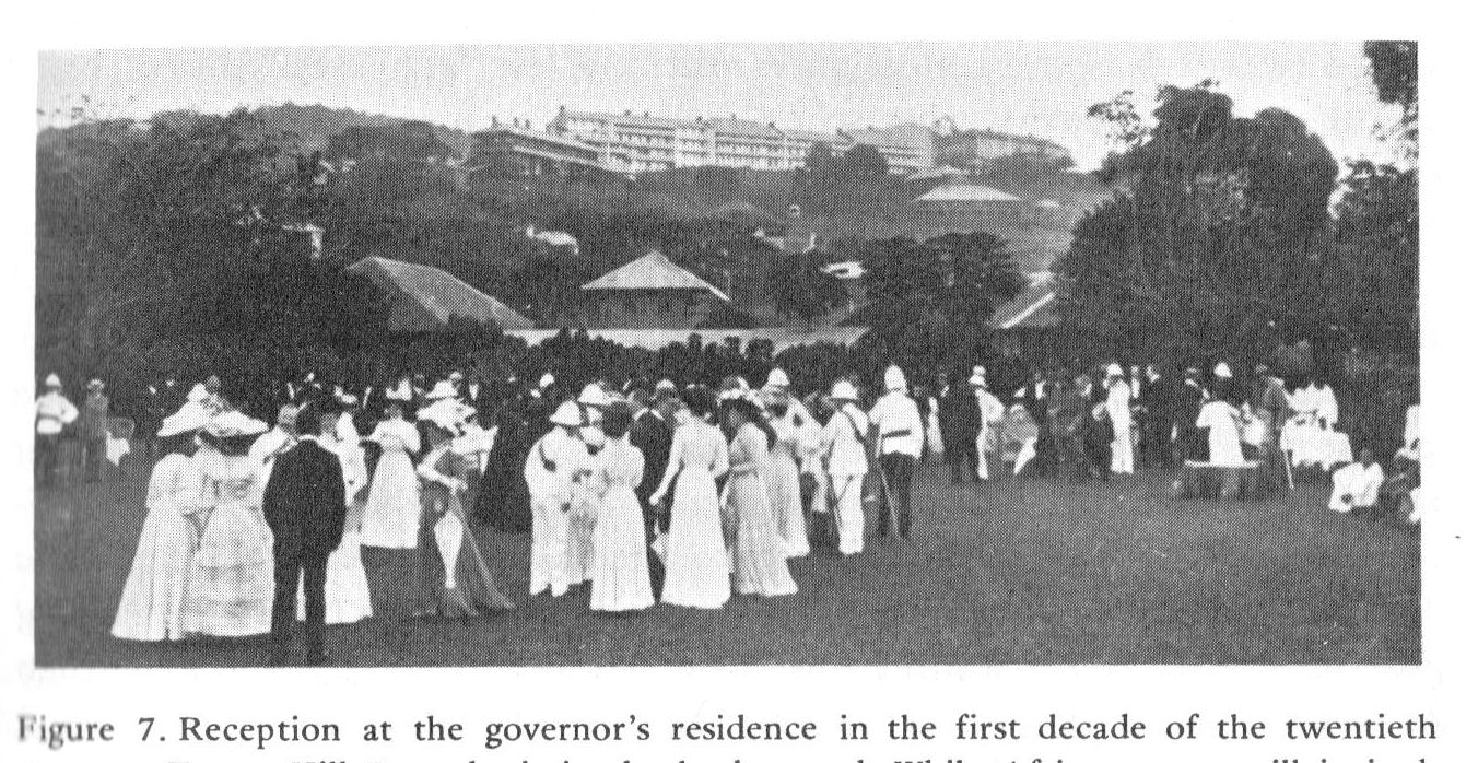 Governor's reception, Hill Station