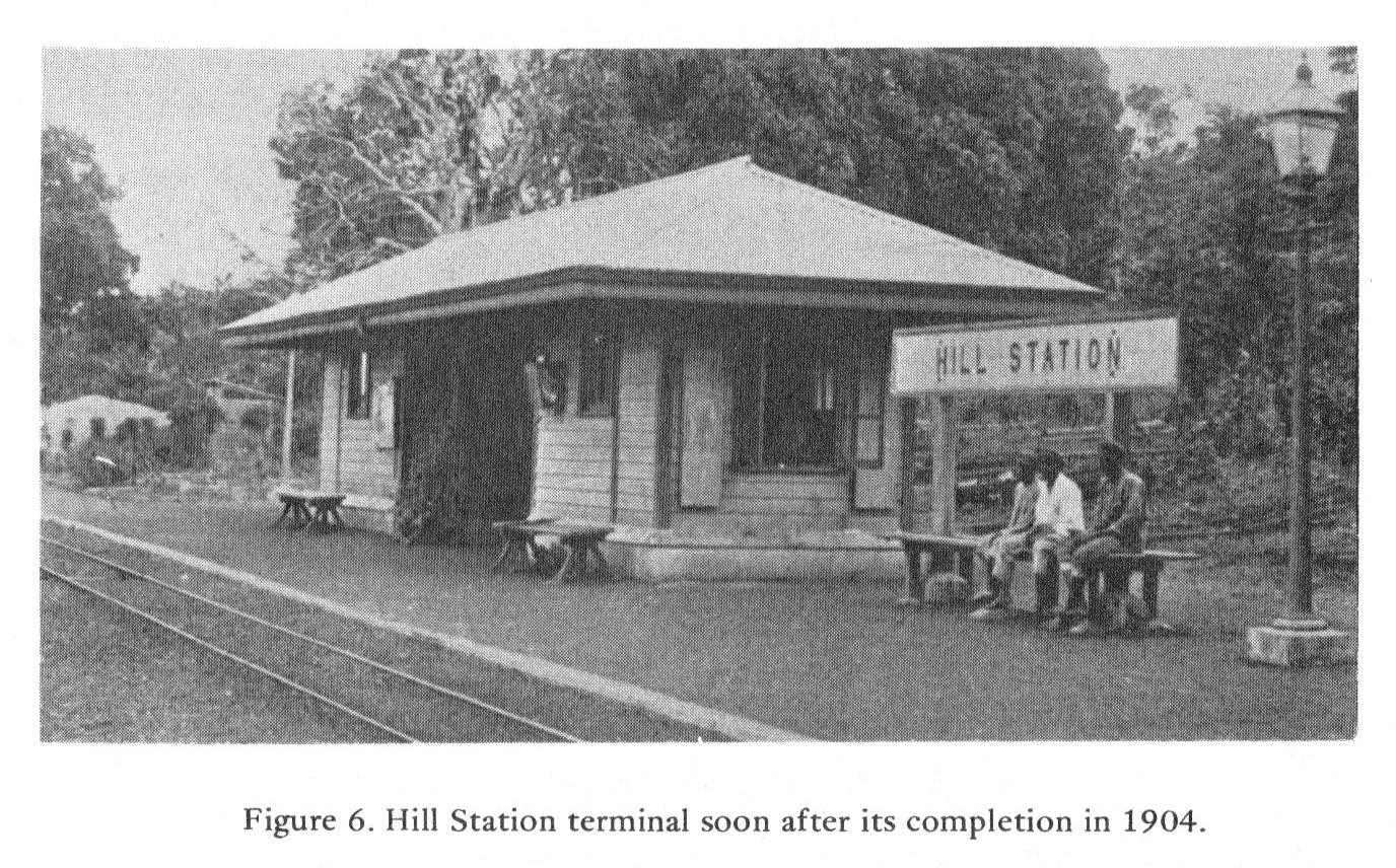 Hill Station Railway Terminal, Freetown