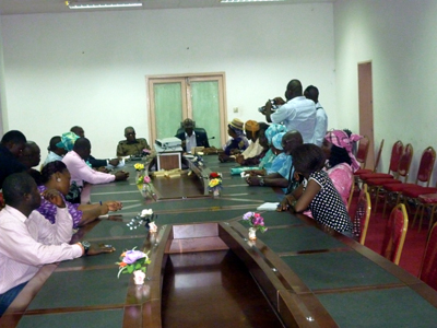 Krio Descendants Union meets with Constitutional Review Committe