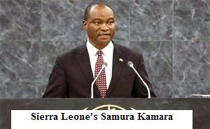 Sierra Leone's Samura Kamara